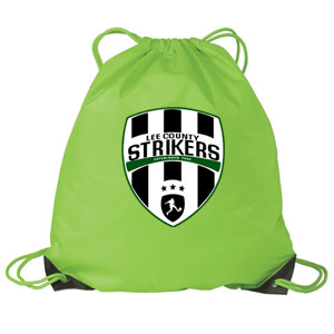 Lee County Strikers Gymsack - Bright Lime BG85LCS