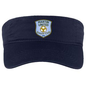 Martin United Custom Visor - Navy CP45-MU