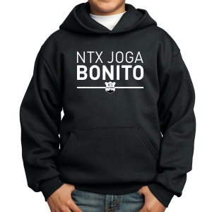 NXT Joga Bonito Youth Hooded Sweatshirt - Black NXT-PC90YH