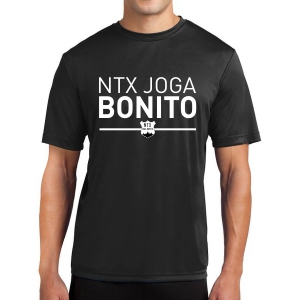 NXt Joga Bonito Short Sleeve Performance Shirt - Black NXT-ST350