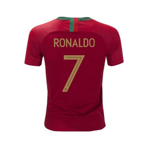 Nike Ronaldo Portugal Youth Home Jersey 2018 893995-687-Ronaldo