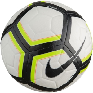 Nike Team Strike Soccer Ball - White/Volt/Black SC3176-100