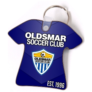 Oldsmar Soccer Club Custom Key Chain KYCH-OSC