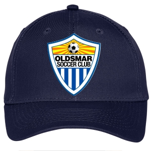Oldsmar Soccer Club Custom Hat - Navy C913-OSC