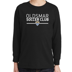 Oldsmar Youth Long Sleeve T-Shirt - Black 5400B-OSCB