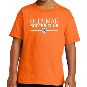 Oldsmar Soccer Club Youth T-Shirt - Orange 5000B-OSCO