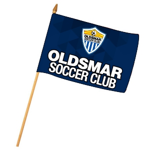 Oldsmar Soccer Club Custom Mini Flag MNFL-OSC