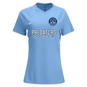 PBG Predators Nike Women's Tiempo Premier Jersey - Light Blue 894495-448-PBG