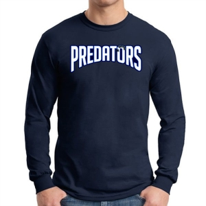Palm Beach Gardens Long Sleeve T-Shirt - Navy G5400-PBG