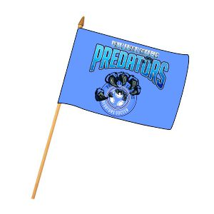 PBG Predators Custom Mini Flag MNFL-PBG