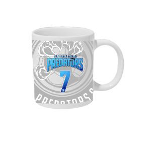 PBG Predators Custom Coffee Mug CFMG-PBG