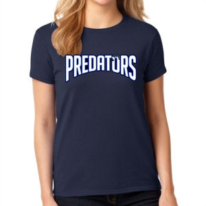 PBG Predators Women's T-Shirt - Navy G5000L-PBG