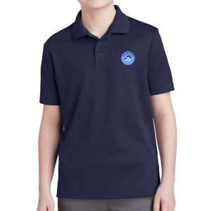 PBG Predators Youth Polo Shirt - Navy YST640-PBG
