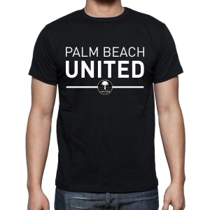 Palm Beach United T-Shirt - Black PBU-G5000