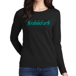 RPB Strikers Women's Long Sleeve T-Shirt - Black G5400L-RPB