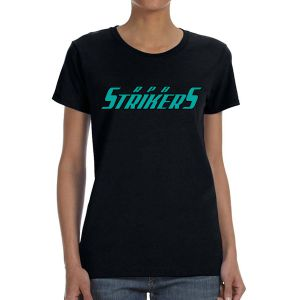 RPB Strikers Women's T- Shirt - Black G5000L-RPB