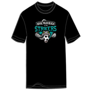 RPB Strikers Logo T-Shirt - Black G500-RPBL