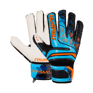 Reusch Prisma SG LTD Finger Support Glove - Blue/Black 3870010