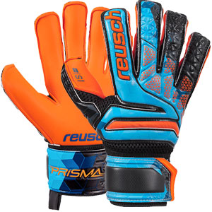 Reusch Junior S1 Evolution LTD Finger Support Glove - Blue/Black/Shocking Orange 3872018