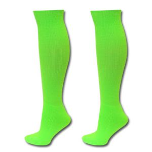 SSA United Nylon Sock - Neon Green EurSptSck