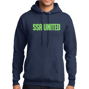 SSA United Hooded Sweatshirt - Navy SSAHoodNav