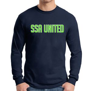 SSA United Long Sleeve T-Shirt - Navy SSALTeeNavy