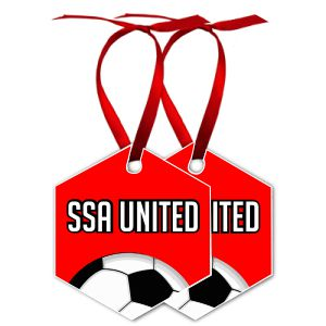 SSA United Christmas Ornaments SSAOrna