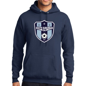 South Suburban Soccer Academy Hooded Sweatshirt - Navy SSSA-PC78H