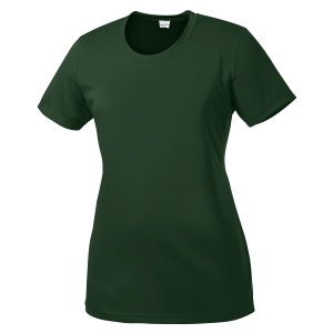 Sport Tek Women's Performance Shirt - Forest Green LST350-FG