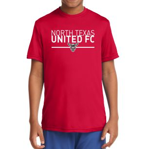 Texas United FC Youth Performance Shirt - Red YST350Rd