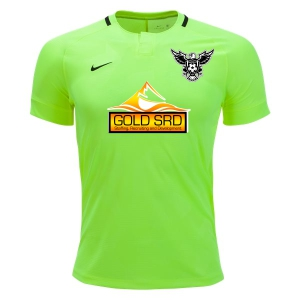 North Texas United FC Nike Challenge II Jersey - Volt/Black 894035-702NTUFC