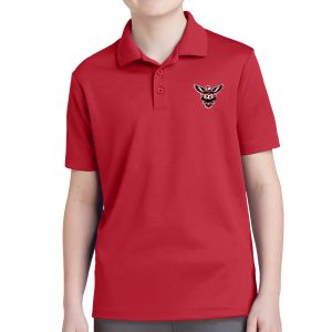Texas United FC Youth Polo Shirt - Red YST640Red