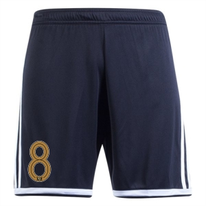 West Side United SC adidas Regista 18 Short - Black/White WSU-CF9593