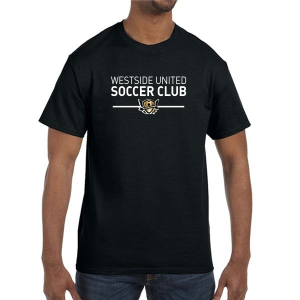 West Side United T-Shirt - Black WSU-G500