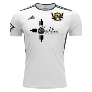 West Side United SC adidas Entrada 18 Jersey - White/Black WSUSC-CD8438