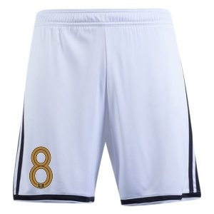 West Side United SC adidas Regista 18 Short - White/Black WSU-CF9594