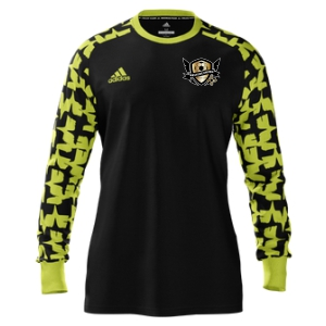 West Side United adidas Youth Mi Assita 17 Goalkeeper Jersey - Black/Yellow WSU-MIAD2US37945204