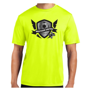 West Side United SC Performance Shirt - White WSU-ST350