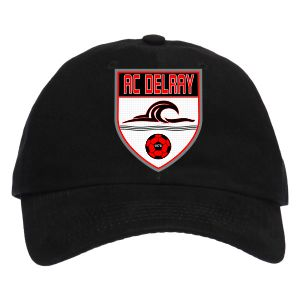 AC Delray Custom Hat - Black AC-BKCP