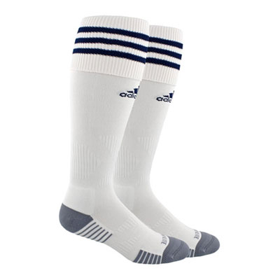 Oldsmar Soccer Club adidas Copa Zone Cushion IV Socks - White/New Navy OMSC-5147291