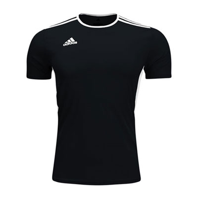 adidas Youth Entrada 18 Jersey - Black/White CF1041