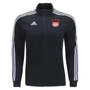Boynton United FC adidas Youth Tiro 19 Training Jacket - Black/White BUFC-DT5276