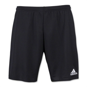 Golden Goal Sports adidas Parma 16 Shorts - Black/White GGS-AJ5880