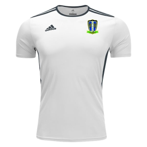 Coral Spring United adidas Youth Entrada 18 Jersey - White/Black CSU-CF1044