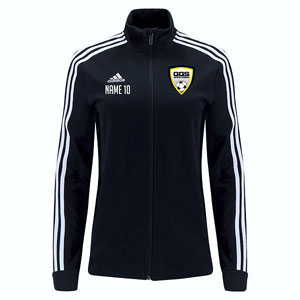 Golden Goal Sports adidas Women's Tiro 19 Training Jacket - Black/White D95929-GGS