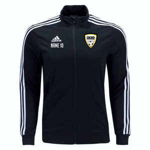 Golden Goal Sports adidas Tiro 19 Training Jacket - Black/White DJ2594-GGS