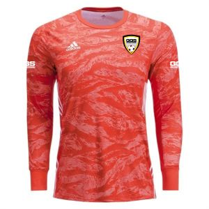 Golden Gold Sports adidas adiPro 19 Goalkeeper Jersey - Semi Solar Red GGS-DP3136