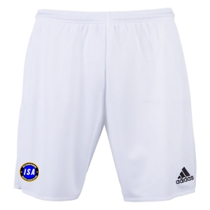 ISA adidas Youth Parma 16 Shorts - White/Black ISA-AC5256