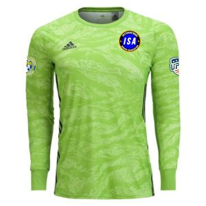 ISA adidas adiPro 19 Youth Goalkeeper Jersey - Semi Solar Green ISA-DP3143