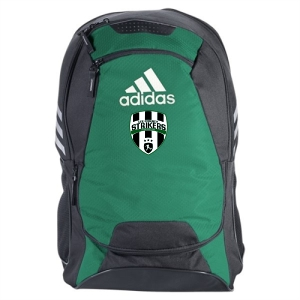 Lee County Strikers adidas Stadium II Team Backpack - Forest Green LCS-5144016